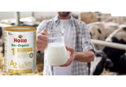 Holle's A2 Infant Cow Milk | Benefits Of This New Organic Infant Formula